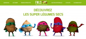 "Les ""supers légumes secs"", présentés par la FNLS"