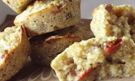 Quinoa, goji berries and date biscuits