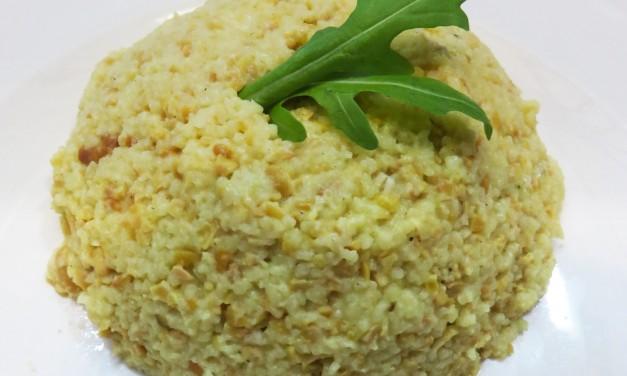 Mélange gourmand de céréales au curry