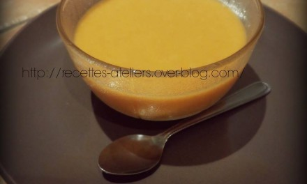 Red lentils cream soup
