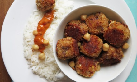 Indian pulses balls (meatless meatballs)