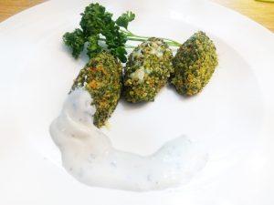 Quenelles légumes quinoa