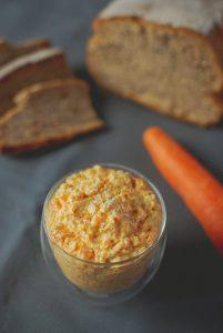 Rillettes de carottes aux flocons d'avoine