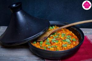 Tajine végétarien aux haricots lingots