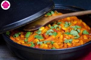Tajine végétarien aux haricots lingots2