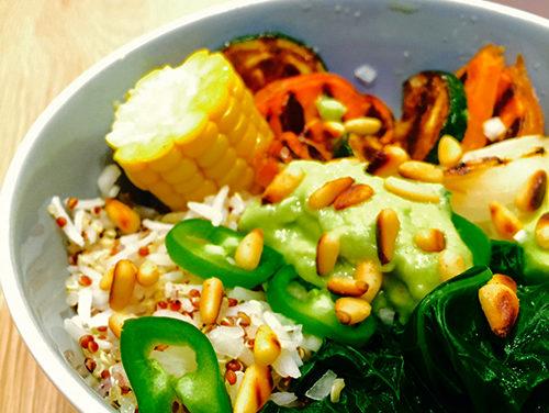 Buddha veggie bowl