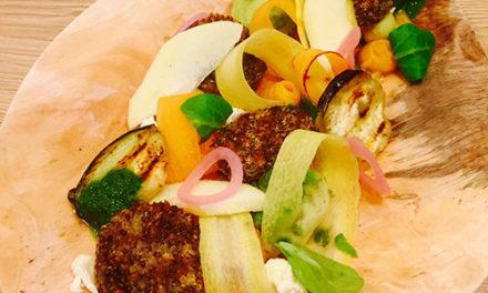 Salade et galettes de quinoa