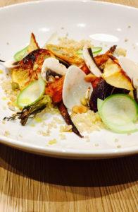 Quinoa-and-roasted-vegetables-lemon-vinaigrette-sauce