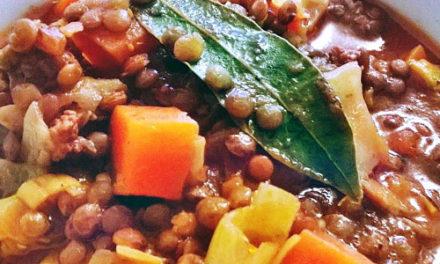 Ragoût veggie de lentilles vertes BIO, sauce bolognaise