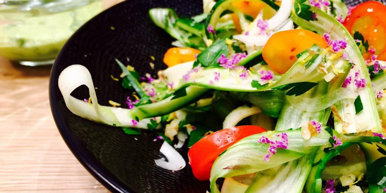 Des salades en folie pour le printemps !