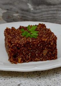 Quinoa à la tomate façon risotto