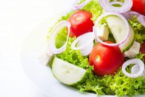 salade concombre