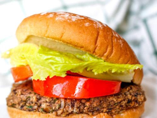 Burger végétarien/vegan
